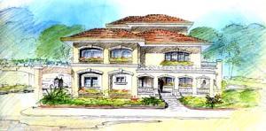 Nuova villa unifamiliare  in vendita - 300 mq